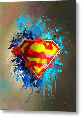 Smallville Metal Print by Anthony Mwangi