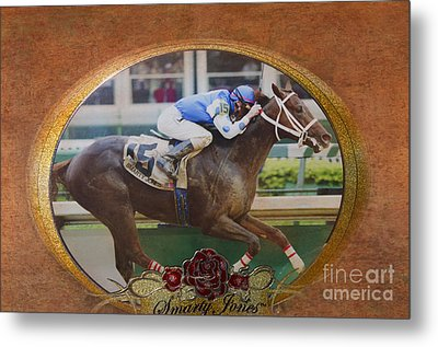 Smarty Jones Metal Print