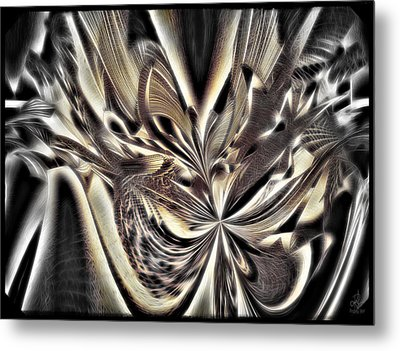 Smash And Grab Metal Print by Pennie  McCracken