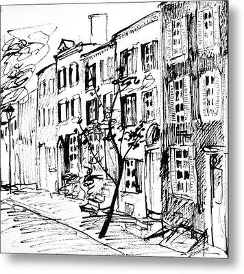 Smedley Street Metal Print