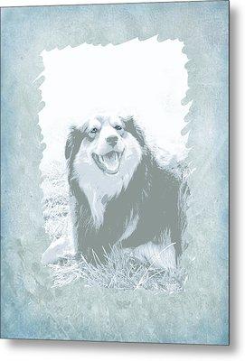 Smile Metal Print by Ann Powell