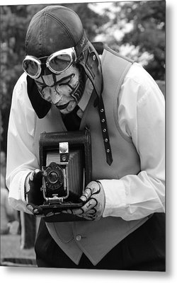 Smile For The Camera Metal Print by Kym Backland