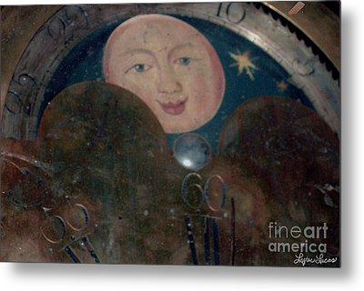 Metal Print featuring the photograph Smiling Moon by Lyric Lucas