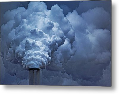 Smoke Billows Metal Print
