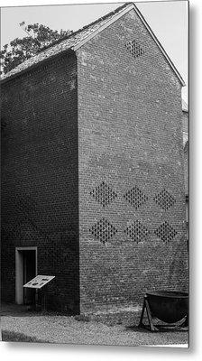 Smoke House Belle Meade Mansion Metal Print by Robert Hebert
