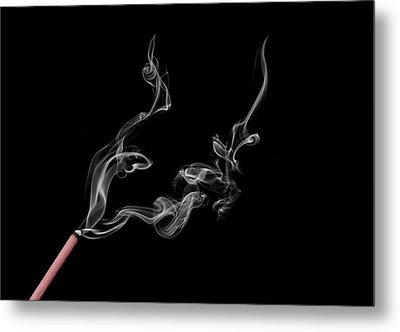 Smoke Photography Metal Print by Jay Harrison
