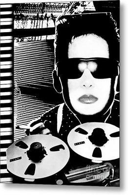 Smoke Screen Metal Print by Colleen Kammerer