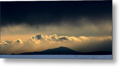 Metal Print featuring the photograph Smoke Signals by Silke Brubaker