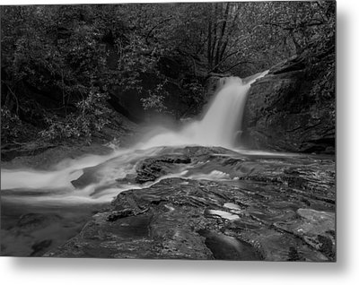 Smokey Metal Print by Debra and Dave Vanderlaan