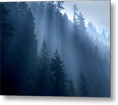 Smokey Metal Print by Randal Bruck