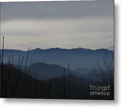 Smokies Metal Print by Jeanne Forsythe