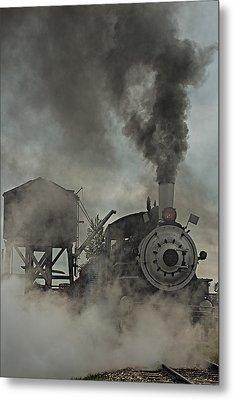 Smokin Engine 353 Metal Print