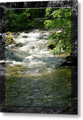 Smoky Mountain Stream - B Metal Print