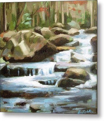 Smoky Mountain Stream Metal Print