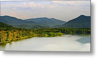 Smoky Mountains Metal Print by Frozen in Time Fine Art Photography