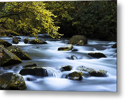 Smoky Stream Metal Print by Chad Dutson