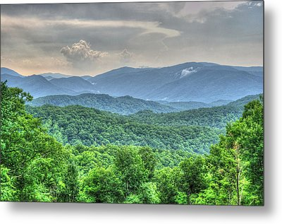 Smoky Vista Metal Print