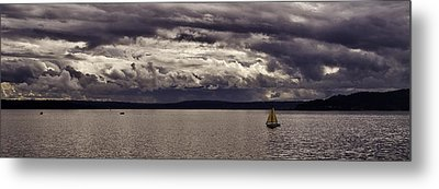 Smooth Sailing Metal Print by Wayne Meyer