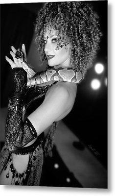 Snake Priestess Metal Print