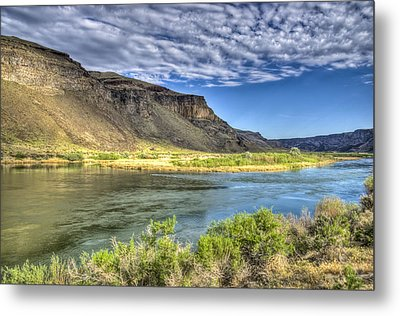 Snake River Afternoon Metal Print