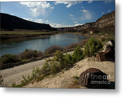 715p Snake River Birds Of Prey Area Metal Print