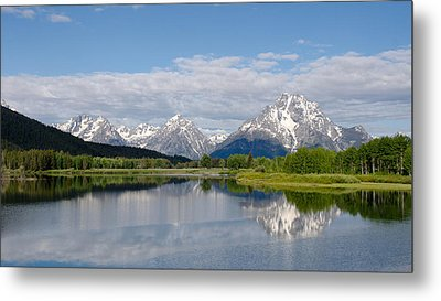 Snake River In Grand Teton  Metal Print