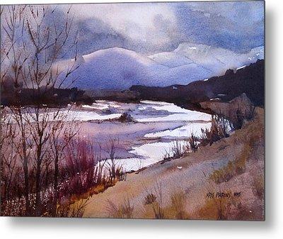 Snake River Looking South Metal Print by Kris Parins