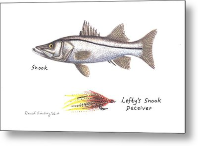 Snook And  Lefty's Snook Deceiver Fly Metal Print