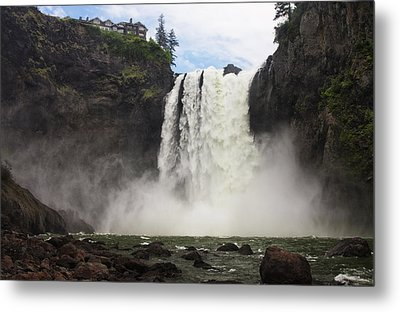 Snoqualmie Falls Metal Print by Mark Kiver