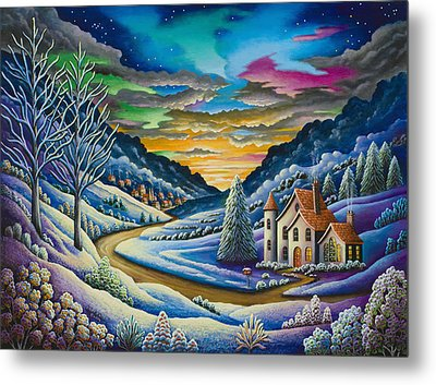 Snow Metal Print by Andy Russell