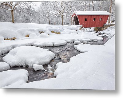The Stillness Of Winter Metal Print by Bill Wakeley
