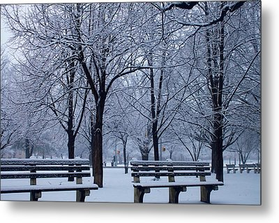 Snow Day Metal Print by Richie Stewart