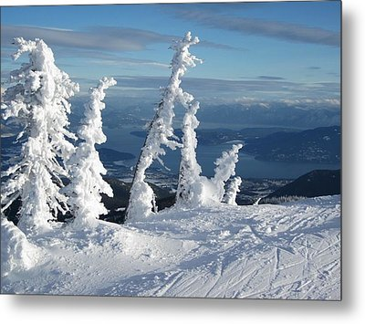 Snow Ghosts 1 Metal Print