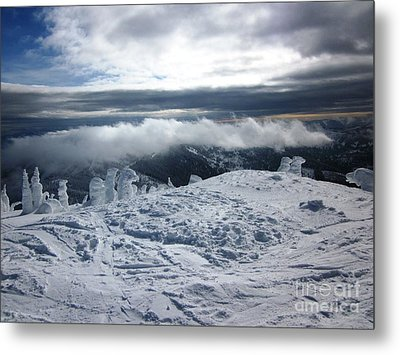 Snow Ghosts Metal Print