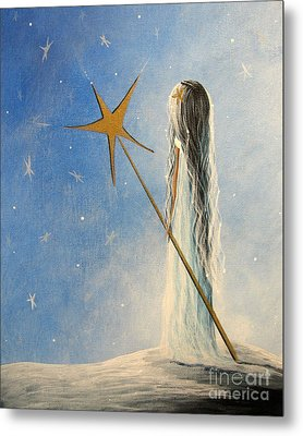 Snow Queen By Shawna Erback Metal Print by Shawna Erback