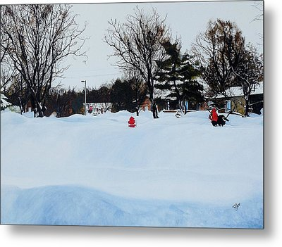 Snowed In Metal Print