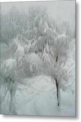Snowland Metal Print by Kume Bryant