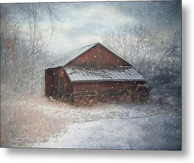 Snowland Metal Print by Mary Timman
