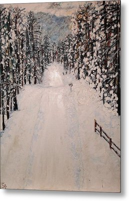 Snowy 27th Metal Print