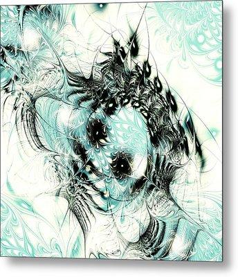 Snowy Owl Metal Print by Anastasiya Malakhova