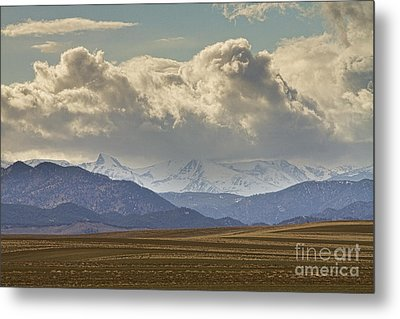 Snowy Rocky Mountains County View Metal Print by James BO  Insogna