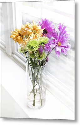 So Bright Metal Print by Arlene Carmel