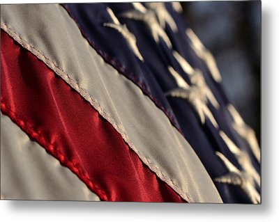 So Proudly We Hail Metal Print by Larry Bishop