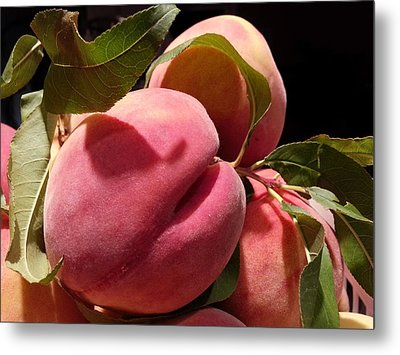 Metal Print featuring the photograph So Soft And Juice by Caryl J Bohn
