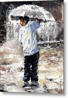 Soaked Metal Print by Emerico Imre Toth