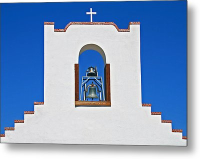 Metal Print featuring the photograph Socorro Mission La Purisma by Kathleen Scanlan