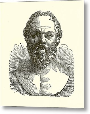 Socrates Metal Print by English School