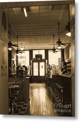 Soda Fountain And General Store Metal Print