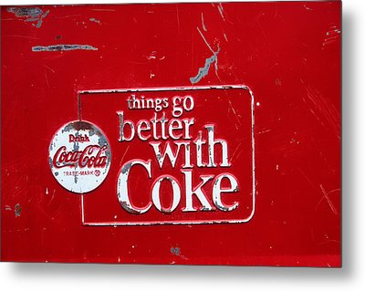 Soda Of Choice Metal Print