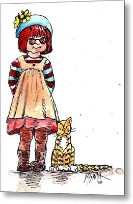 Sofie Metal Print by Marilyn Smith